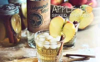 Apple Pie Spiked Spritzer